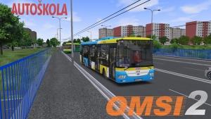 OMSI 2 SOR NB 12 City DP Košice #5737 - CVICNA JAZDA